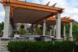 Pergola Canopies Retractable by Retractable Canopies In Vaughan Shadefx Canopies