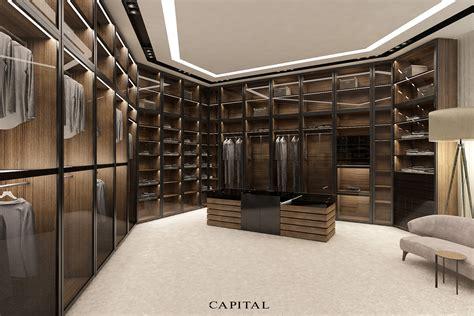 cabina armadio progetto capital collection arredamento e luxury design