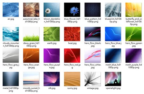 sony xperia  wallpapers android apk