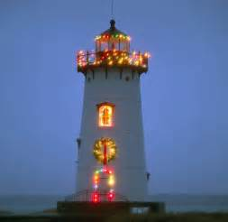 Cape Neddick Light Merry Christmas From The Lighthouses Pathways Of The Heart