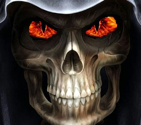 skull wallpaper pinterest animated harley davidson screensavers flames skull 25