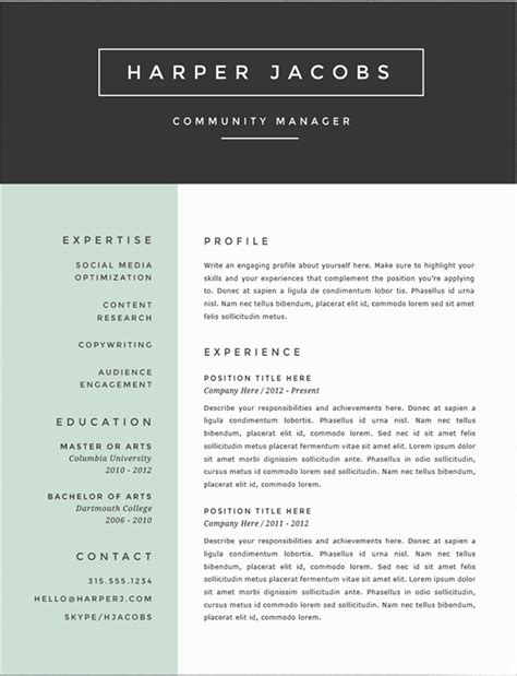 Resume Color by Is A Resume With Color Design Ok If You Are Not A