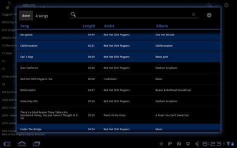 format audio pour android hive player le lecteur audio pour tablettes android