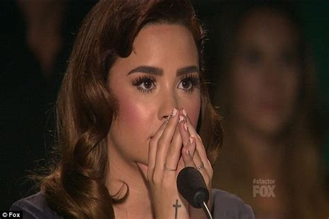 Vanity Fair Tv Show X Factor Usa 2012 Demi Lovato Forced To Choose Between
