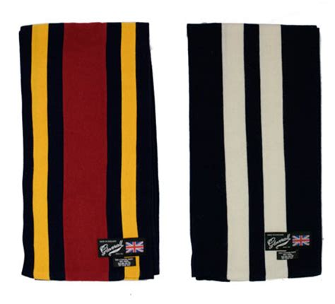 gloverall college scarf range modculture