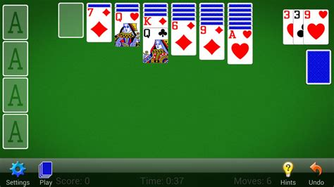 solitaire for android android card
