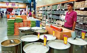 the delhi grocers that are selling products using faulty
