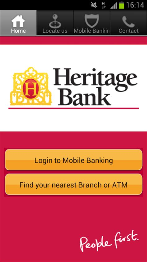 heritage bank banking sign in heritage mobile banking android apps on play