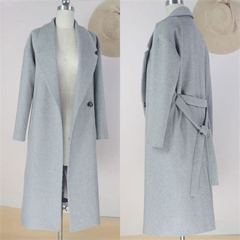 light blue winter coat best quality womens light blue sheath slim coat fashion