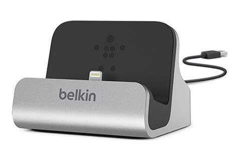 chargeur pour iphone belkin station de charge et synchronisation lightning iphone 5 5s 1390325