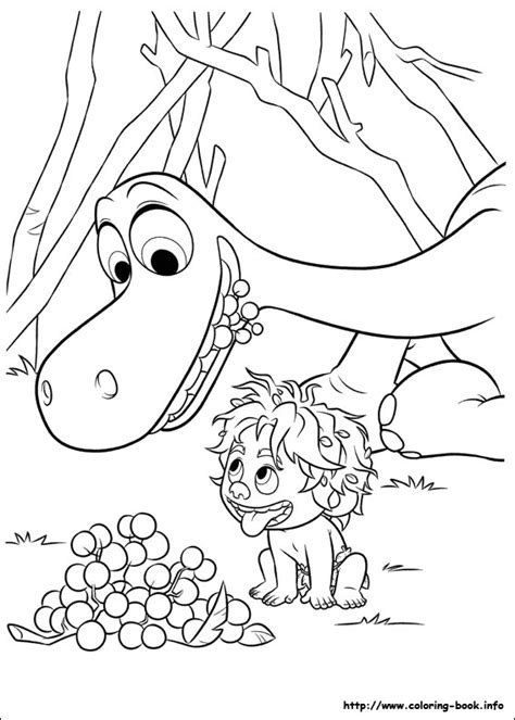 dibujos para colorear de un gran dinosaurio mi barquito