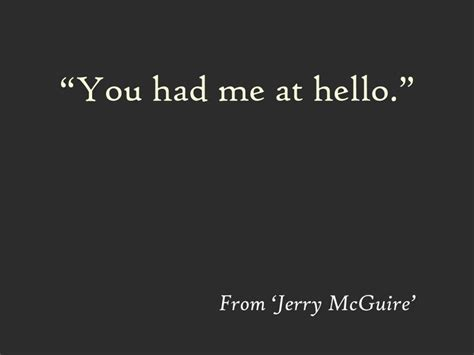 movie quotes you had me at hello 20 best promises images on pinterest facts a quotes and