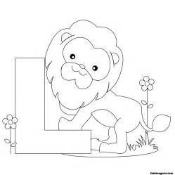 l coloring page free coloring pages of l worksheet