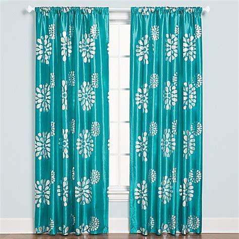 aqua drapery panels zazzle rod pocket 84 inch window curtain panel in aqua