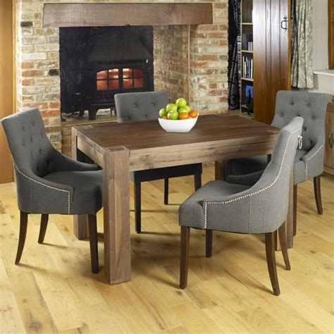 Walnut Dining Room Table And Chairs by Shiro Walnut Wood Modern Furniture Dining Table And