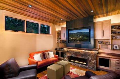 modern style entertainment room interior design ideas glorious electric fireplace entertainment center