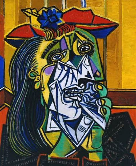 Picasso Weeping