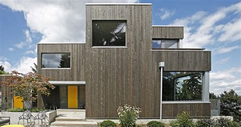shed architectural style ultra green house in seattle marries aesthetics and