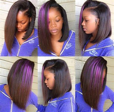 sew n bobs asymetric asymmetrical color bob sew ins short hairstyle 2013
