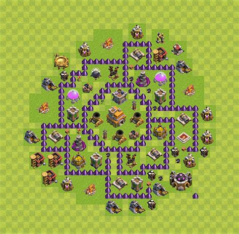 basic layout building guide clash of clans clash of clans base plan layout for trophies town hall
