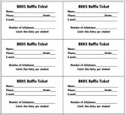 raffle ticket printing template 10 best images of printable raffle ticket templates free