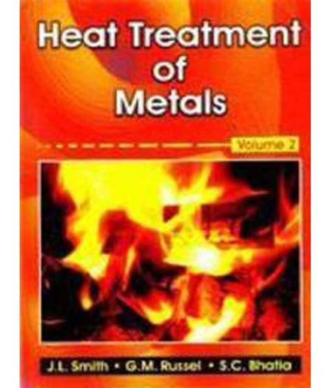 heat treatment for metals heat treatment of metals vol 2 1 e hardback buy heat