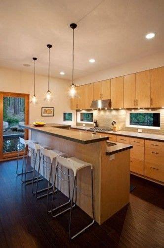 light maple cabinets  dark hardwood floors