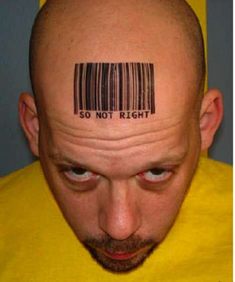 barcode tattoo price does many barcode tattoos have something to do with many