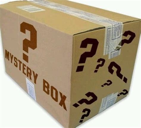 ebay mystery box mystery box to raise money for surgery in everything else