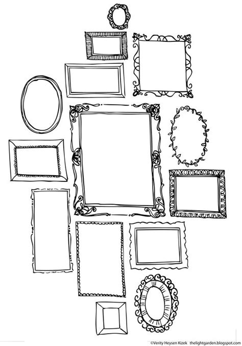 printable art to frame free printables think draw creative pages by