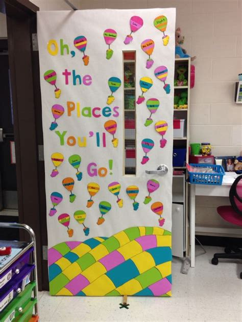 school door decorating oh the places you ll go classroom door oh the places you ll go classroom
