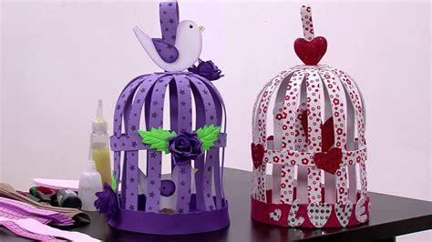 imagenes navideñas hechas de foami manualidades como hacer jaulas decorativas en foamy