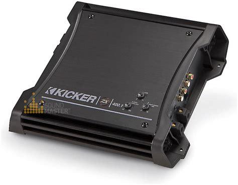 kicker zx400 1 298 kicker zx400 1 zx mono block amplifier zx4001