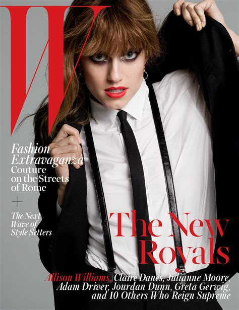 2015 W Magazine Cover October | fug and fab and wtf the covers the w magazine new royals