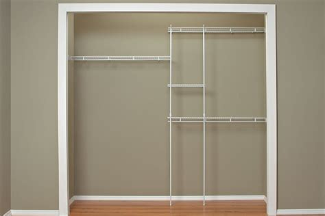 Affordable Closet by Affordable Closet Organizer Kit Steel 5 To 8 Review