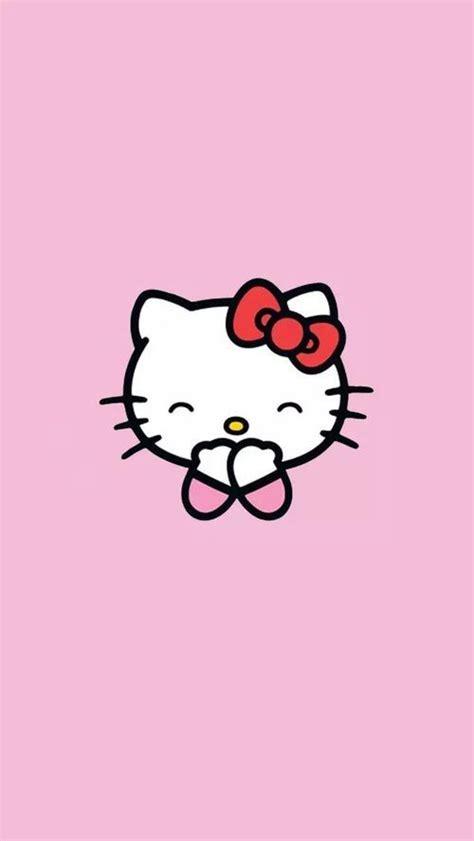 gambar  kitty terlengkap cantik pink lucu