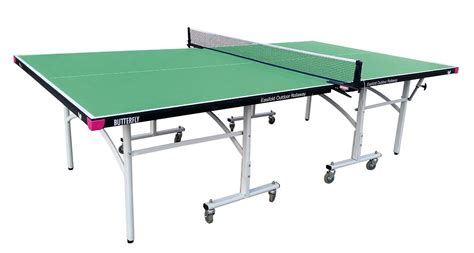 butterfly outdoor rollaway table tennis butterfly easifold table tennis table review