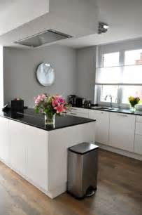 Gray Kitchen Walls With White Cabinets Gray Walls Light Wood Floors White Cabinets Counter Tops To Make A House A Home