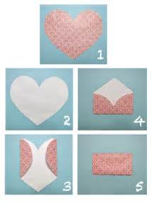 make an envelope crafts diy heart envelopes
