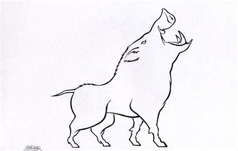 Drawing Boar