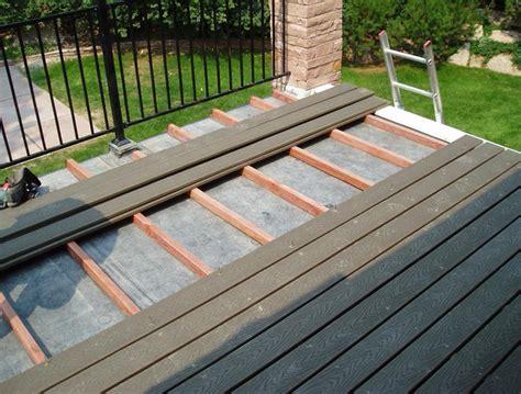 flat roof deck design home design ideas