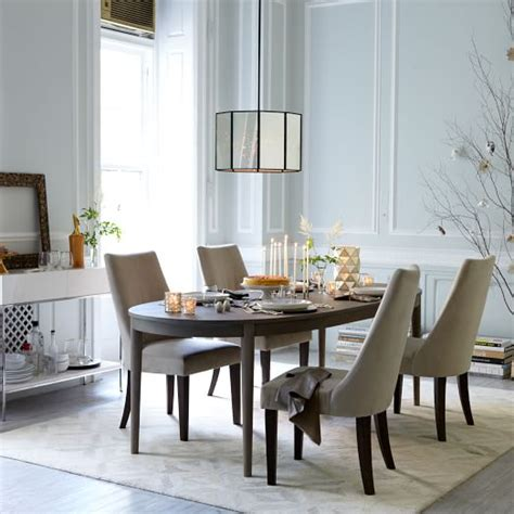 west elm dining room tables starburst expandable dining table west elm