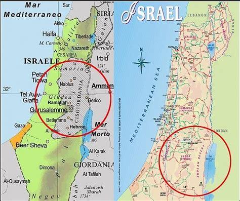 emule giardini israele dalla mappa sparisce la cisgiordania