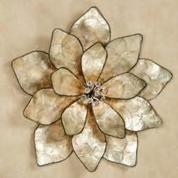 Flower Wall Decor by Eloquence Bloom Capiz Shell Flower Wall