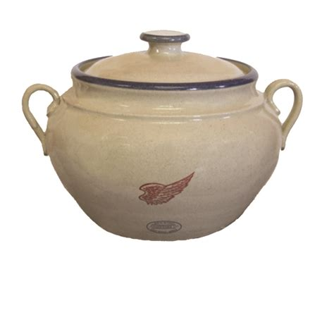 Bean Pot 3 QT.   Red Wing Stoneware & Pottery