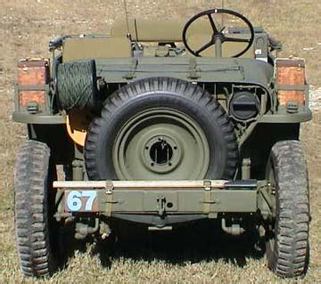 ww2 jeep front wwii airborne signals jeep features