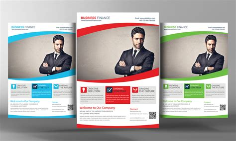 template flyer business corporate business flyer template by business templates on