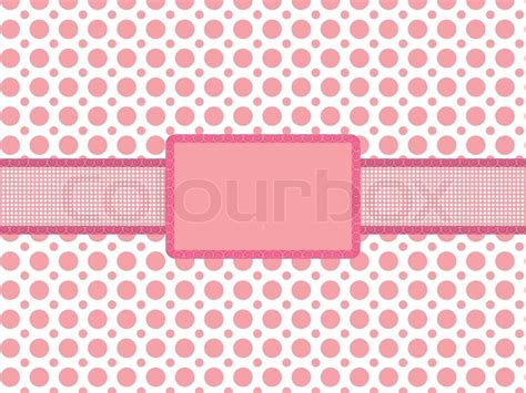 pink polka dot with frame background labs pink polka dot background with vintage holiday frame