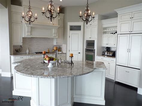 round island kitchen pleasing 70 round kitchen island design inspiration of