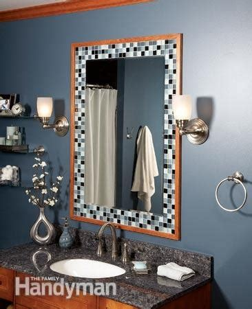 how to frame a bathroom mirror with mosaic tiles 17 best ideas about tile mirror frames on pinterest tile